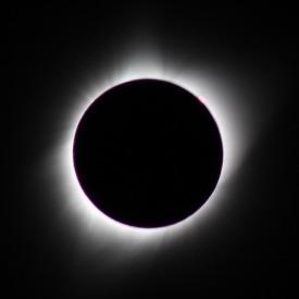 August 2017 eclipse from Nebraska (2m 27s)