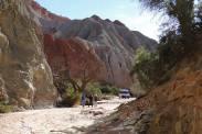 """Quebrada (""""valley"""") in Ischigualasto"""